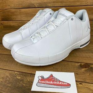 "NEW Nike Air Jordan TE 2 Low ""White Chrome"""